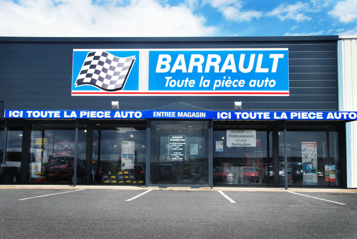 magasin barrault en pi ces automobiles poitiers. Black Bedroom Furniture Sets. Home Design Ideas